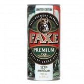 Faxe Premium Beer Can 1L